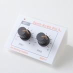 【プッシュピン】SKP-1MK-Ⅱ ホワイト シンセサイザーツマミ型プッシュピン