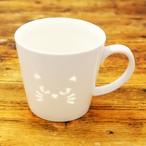 猫マグカップ(透かしマグネコ)