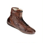 IC/782014  CARRERA HIGH SHOES  Dark brown