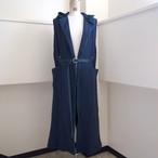 【ethical hippi】custom hoodie gilet(D) / 【エシカル ヒッピ】カスタム フーディ ジレ(D)