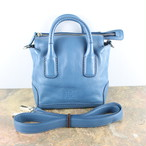 .HIROFU LOGO EMBOSSED LEATHER 2WAY SHOULDER BAG MADE IN ITALY/ヒロフロゴ型押しレザー2wayショルダーバッグ 2000000046532