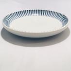 【砥部焼/梅山窯】6寸丸皿・切立(十草)