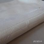 正絹絽 白に絞りの帯揚げ