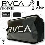 ルーカ レディース ポーチ 新作 人気ブランド おしゃれ プレゼント 透明 クリア ブラック RVCA CLEAR POUCH AJ041-M91