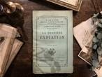 【PV169】LA DERNIÈRE EXPIATION / display book
