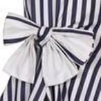 LILY DRESS   MONROE STRIPE  =JESSIE AND JAMES =