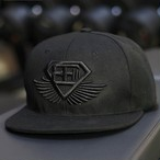 BODY ENGINEERS Snapback – Black on Black