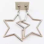 big silver star pierce[p-194]