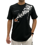 【SKANDHAL】MEGAFONO Tシャツ【ブラック】【新作】イタリアンウェア《M&W》
