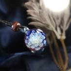 [試作品] ゆらめきのガラスペンダント20201117