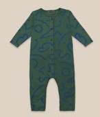 BOBO CHOSES ボボショセス Curved Lines All Over Overall size:6-12M(70-80)