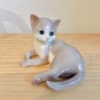 ヴィンテージ 猫 ロイヤルコペンハーゲン陶器