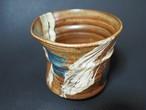 フリーカップ刷毛目 2個セット 陶芸工房かみや 神谷理加子 やちむん