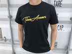 ThreeArrows Tシャツ(black × yellow)