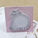 【スタンドスティックマーカー】ねこのおしり(スタンド付箋)【メモ帳 猫雑貨 ネコ キュート】