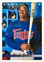 MLBカード 93UPPERDECK Chili Davis #239 TWINS