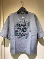 Marble Sud マーブルシュッド OFF THE MAP HALF S/S Tシャツ   グレー
