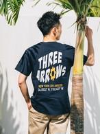 【4/14(WED)20:00 販売開始】ThreeArrows Union S/S TEE(navy)