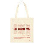 NO THANK YOU Eco Tote Bag