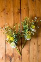 お花単品【お盆・お供え・仏花】お供え仏花花束 造花-Y-