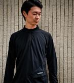 Sato LS Half Zip: Color Black
