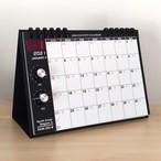 NEW!【2021年 カレンダー】アナログシンセカレンダーSKM-365PE・2021モデル 卓上/SKMクラシック