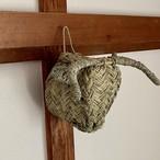 ラタンのアニマルヘッド ウシ モロッコの手しごと品
