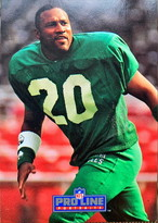 NFLカード 91PROLINE ANDRE WATERS #048 EAGLES