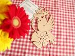 【木のことり】エルツ地方の小鳥の木製オーナメント /ヴィンテージ・ドイツ