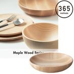 365methods メープル ウッド ラウンド ディッシュ M 21cm 木製 ウッド 容器 キッチン 台所 アウトドア 用品 キャンプ グッズ 365メソッド サンロクゴ・メソッド 料理 調理 レジャー