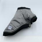 Bull. リバーシブルMA-1ジャケット シルバーグレー