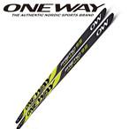 170cm~192cm ONE WAY クロスカントリースキー プレミオ 9.5 スケート スケーティング用 ow40091