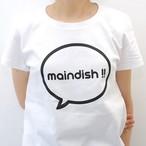 maindish CLASSIC LOGO T / WHITE