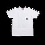 K'rooklyn T-Shirt × 上岡 拓也 Yellow Cab - White