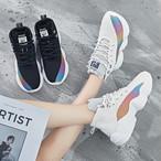 【shoes】カジュアル合わせやすい高品質スポーツ厚底スニーカー15564939