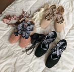 Special ribbon ballet shoes