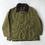 80~90年代 バブアー Barbour BEDALE ビデイル 旧3ワラント ワックスコットン オイルドジャケット 英国製(カーキ)
