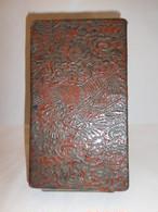 竜絵の漆箱 lacquer ware box(dragon)