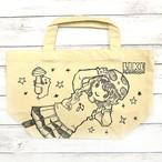 【M.O】LIKE MUSHROOM手描きトート(SMサイズ)/トートバッグ