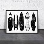アートポスター/ブランド・北欧風・モダンアート/インテリア用/A4(210 x 297mm)/ポスターのみ/AP#030
