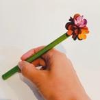 【オンラインショップ限定価格】No.219お花ボールペン(花色マルチカラー)