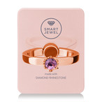 Smart Jewel-Lady Crown‐Pink Gold-2月‐17SJ8-1-PGDLAM