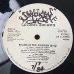 Colonel Abrams ‎– Music Is The Answer