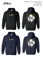 "【受注商品】HOODIE / ""For you, For me, and For us"""