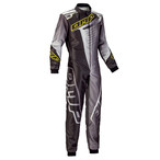 KK01720370  KS-1R Suit (Black/grey/fluo yellow)