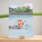 【ロク】猿沢池ポストカード