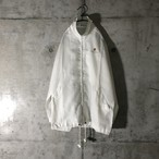 [used] one pointed white nylon jacket