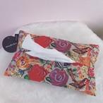 【Nathalie Lete】ナタリー・レテ ティッシュケース ラビット&フラワー tissue case rabbit & flower