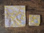 156ri049 Block Print Handkerchief 4
