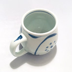 【砥部焼/梅山窯】樽マグカップ(太陽)